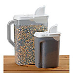 Royal Wing 'Bag in Dispenser' Bird Seed and Pet Food Dispenser, Pack of 2