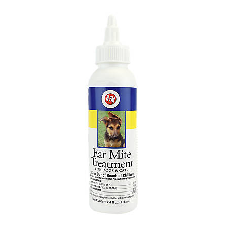 Miracle Care Ear Mite Treatment, 4 oz., 424224