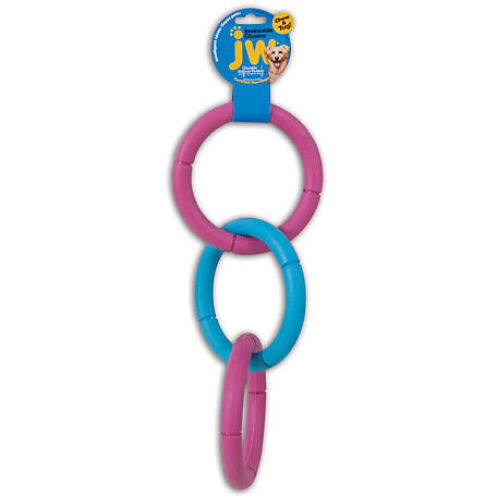 JW Pet Large Invincible Chains Chew Toy, 43135
