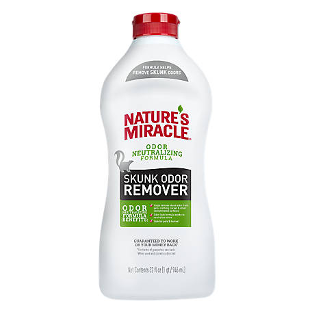 Nature's Miracle Skunk Odor Remover Odor Neutralizing Formula, 32 fl. oz., P-98219
