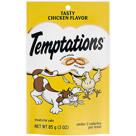 Temptations Tasty Chicken Flavor, 3.0 oz.