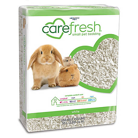 carefresh White Small Pet Bedding, 50L