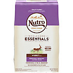 Nutro Sensitive Skin & Stomach Adult Dog Food, Venison Meal & Whole Brown Rice Formula, 30 lb. Bag