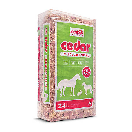 Premier Pet 130021 Cedar Pet Bedding, 1,000 cu. in.
