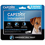 CAPSTAR (nitenpyram) Tablets for Dogs & Cats Up to 1 to 25 lb., Pack of 6