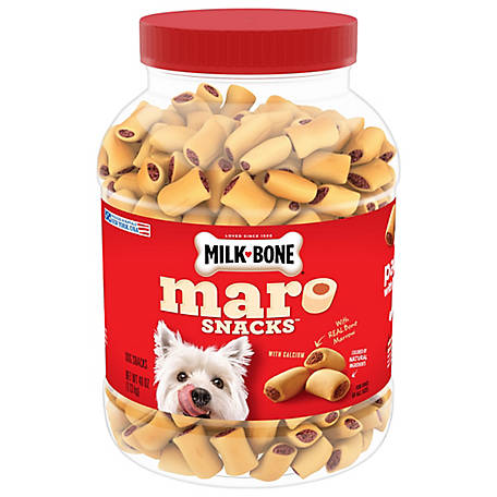 Milk-Bone MaroSnacks Dog Snacks Small Dogs, 40 oz.