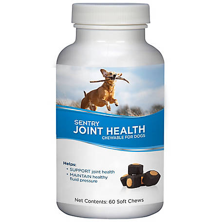 Sentry Joint Health Chewable for Dogs, 60 Count, 3942