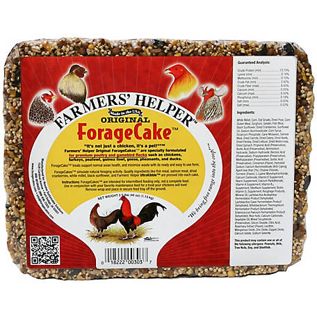 Farmers' Helper Original ForageCake Supplement, 2.5 lb., CS06303