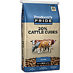 Producer's Pride 20% All Natural Cattle Cube, 50 lb.