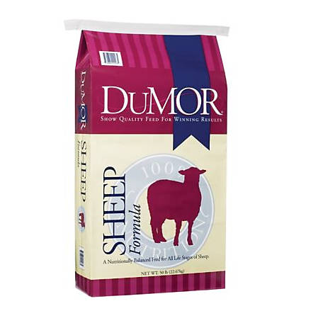 DuMOR Sheep Formula, 50 lb.