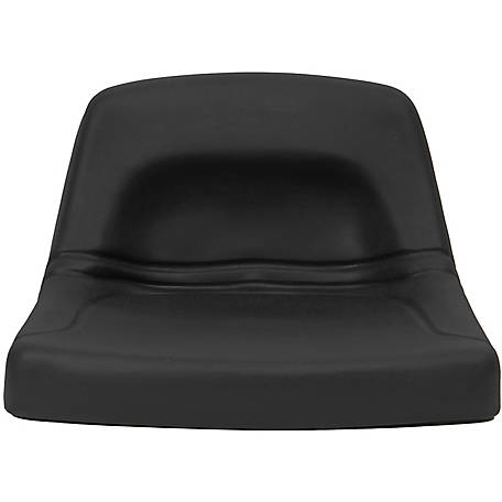 Black Talon Low-Back Steel Pan Seat, 150000BK