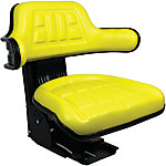 Black Talon Universal Tractor Seat with Adjustable Suspension, Yellow