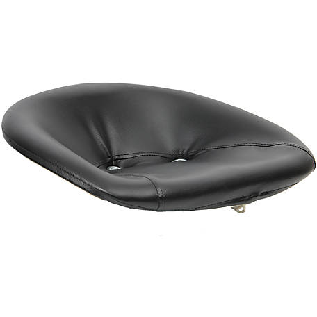 Black Talon Padded Pan Seat, Black, 100000BK