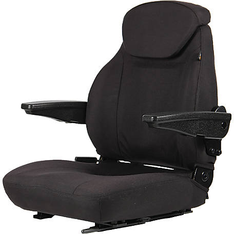 Black Talon Premium High-Back Seat, Cordura, 44000-BK