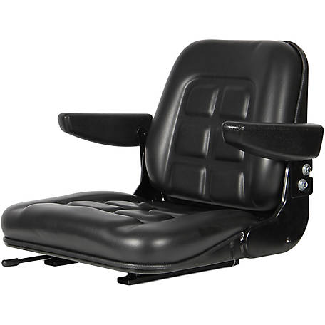 Black Talon Universal Fold-Down Seat, Black, 35500-BK