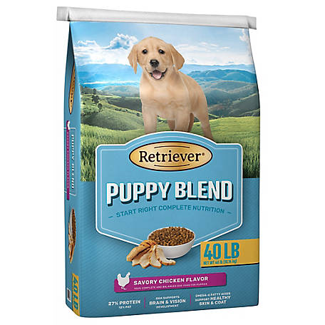 Retriever Puppy Blend Dog Food, 40 lb. Bag