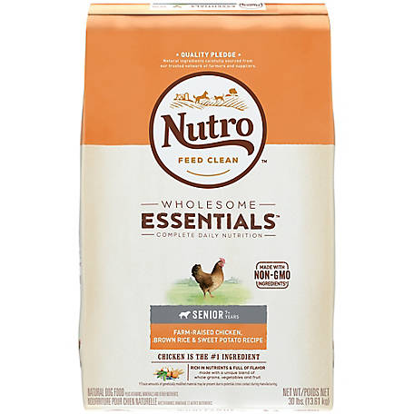 Nutro Senior Wholesome Essentials Dog Food Chicken Whole
