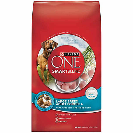 Purina ONE SmartBlend Large Breed Adult Formula Adult Premium Dog Food, 31.1 lb. Bag