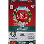 Purina One SmartBlend Large Breed Puppy Formula Puppy Premium Dog Food, 31.1 lb. Bag