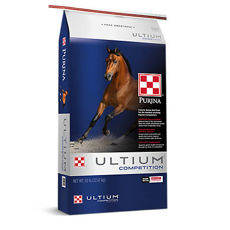 Purina Ultium Competition Horse Formula, 50 lb.