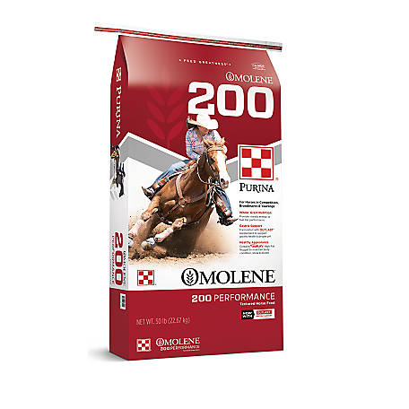 Purina Omolene #200 Performance Horse Feed, 50 lb.