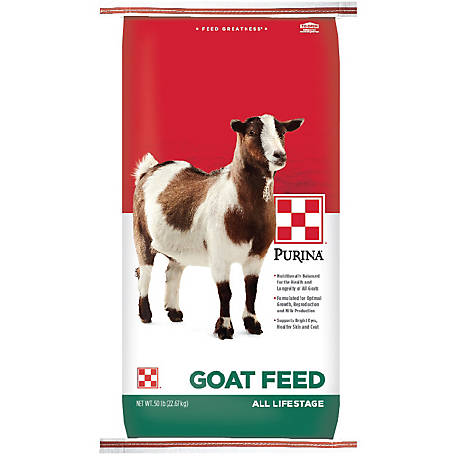 Purina Goat Feed, 50 lb.