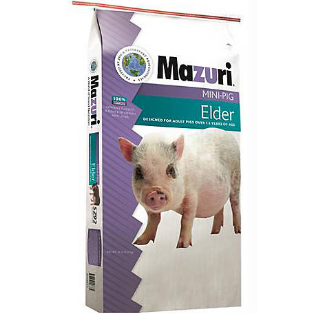 Mazuri Mini Pig Elder Diet, 25 lb., 1503