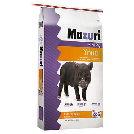 Mazuri Mini Pig Youth, 25 lb., 1501