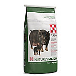 Purina Nature's Match Sow & Pig Complete Feed, 50 lb.