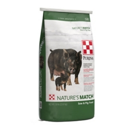 Shop Purina Nature's Match Sow & Pig Complete Feed, 50 lb. at Tractor Supply Co.