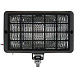 Blazer C8007W 4x6 Multi-Purpose Tractor Light 12V H3-55W Halogen, Flood Beam