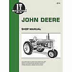 I&T Shop Manuals John Deere Shop Manual, JD4, 88 Pages