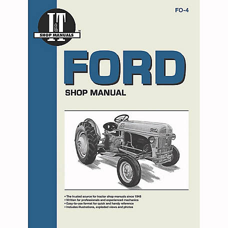 I&T Shop Manuals Ford Shop Manual, FO4, 152 Pages