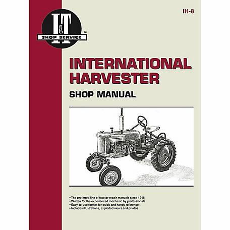 i t shop manuals international harvester shop manual ih8 88 pages rh tractorsupply com ihome ih8 manual español ihome ih8 manual