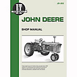 I&T Shop Manuals John Deere Shop Manual, JD203, 224 Pages