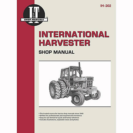 I&T Shop Manuals International Harvester Shop Manual, IH202, 304 Pages