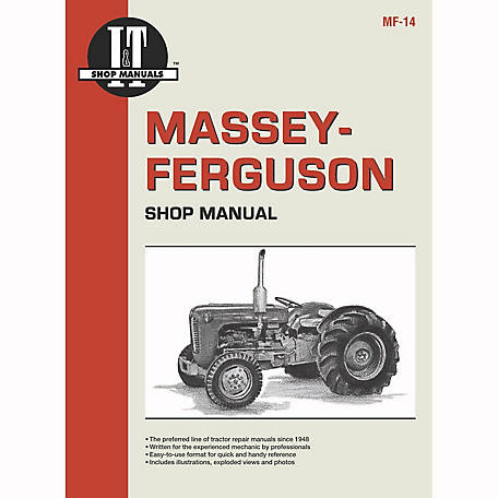 I&T Shop Manuals Massey Ferguson Shop Manual, MF14, 80 Pages