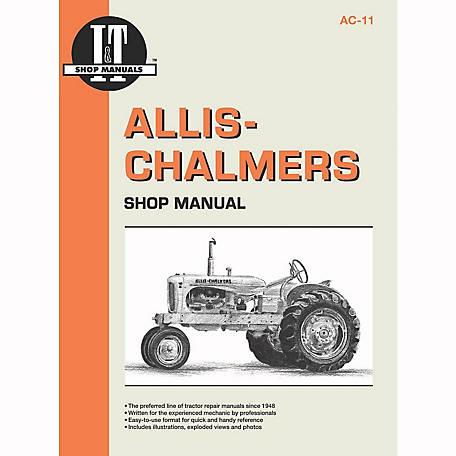 289573?$456$ i&t shop manuals allis chalmers shop manual, ac11, 96 pages at