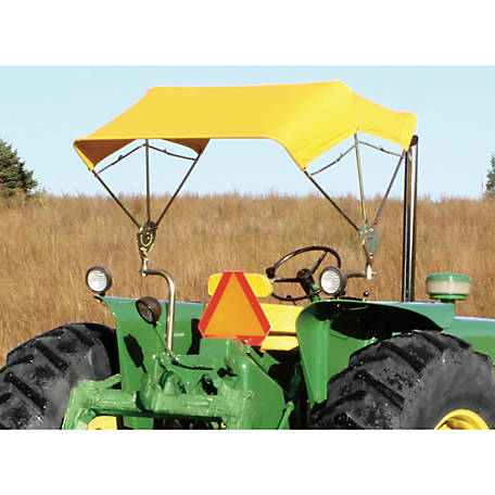Snowco Jbt-3 Sunshade Complete with Yellow Cover and Universal Mounting Bracket