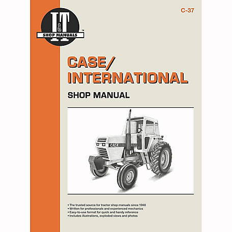 I&T Shop Manuals Case Shop Manual, C37, 120 Pages