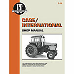 I&T Shop Manuals Case Shop Manual, C38, 120 Pages