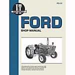 I&T Shop Manuals Ford Shop Manual, FO31, 152 Pages