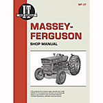 I&T Shop Manuals Massey Ferguson Shop Manual, MF27, 96 Pages
