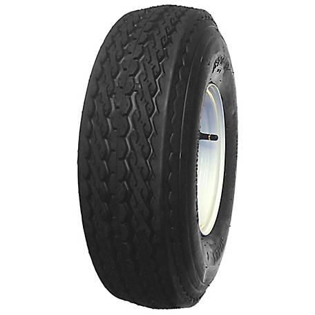 HI-RUN Assembly Replacement Tire, ASB1052 5.70-8 4PR & 8X3.75 4-4 WHITE