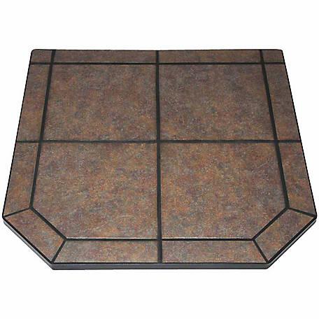 American Clics Type 1 Tile Hearth Pad 40 In Tartara