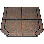 American Classics Type 1 Tile Hearth Pad, 40 in., Tartara