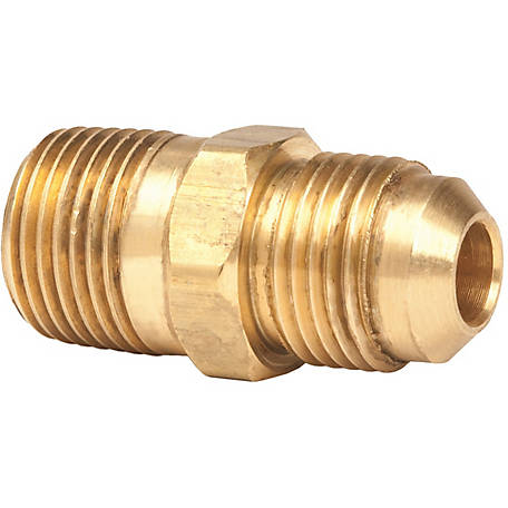 Mr. Heater 3/8 in. Male Pipe Thread x 3/8 in. Male Flare Brass Fitting