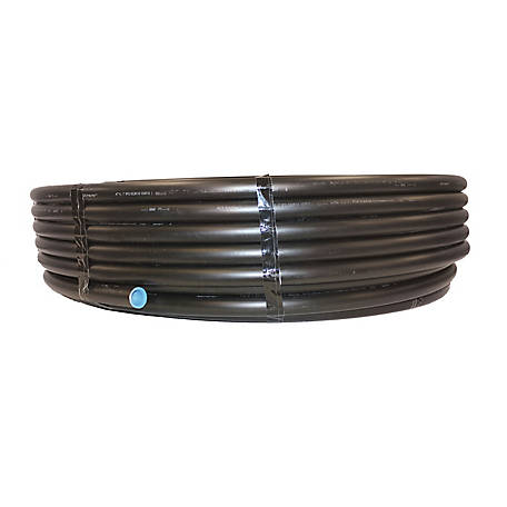 100 PSI Polyethylene Flexible Coil Pipe, 1 in x 100 ft