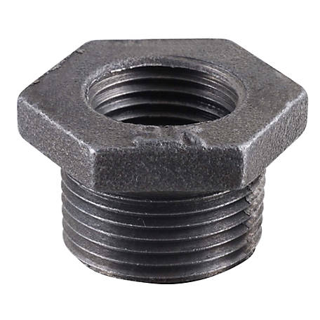 LDR SLK 1/2 in. x 3/8 in. Black Bushing