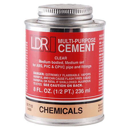 LDR Multi-Purpose Cement, 8 fl. oz.